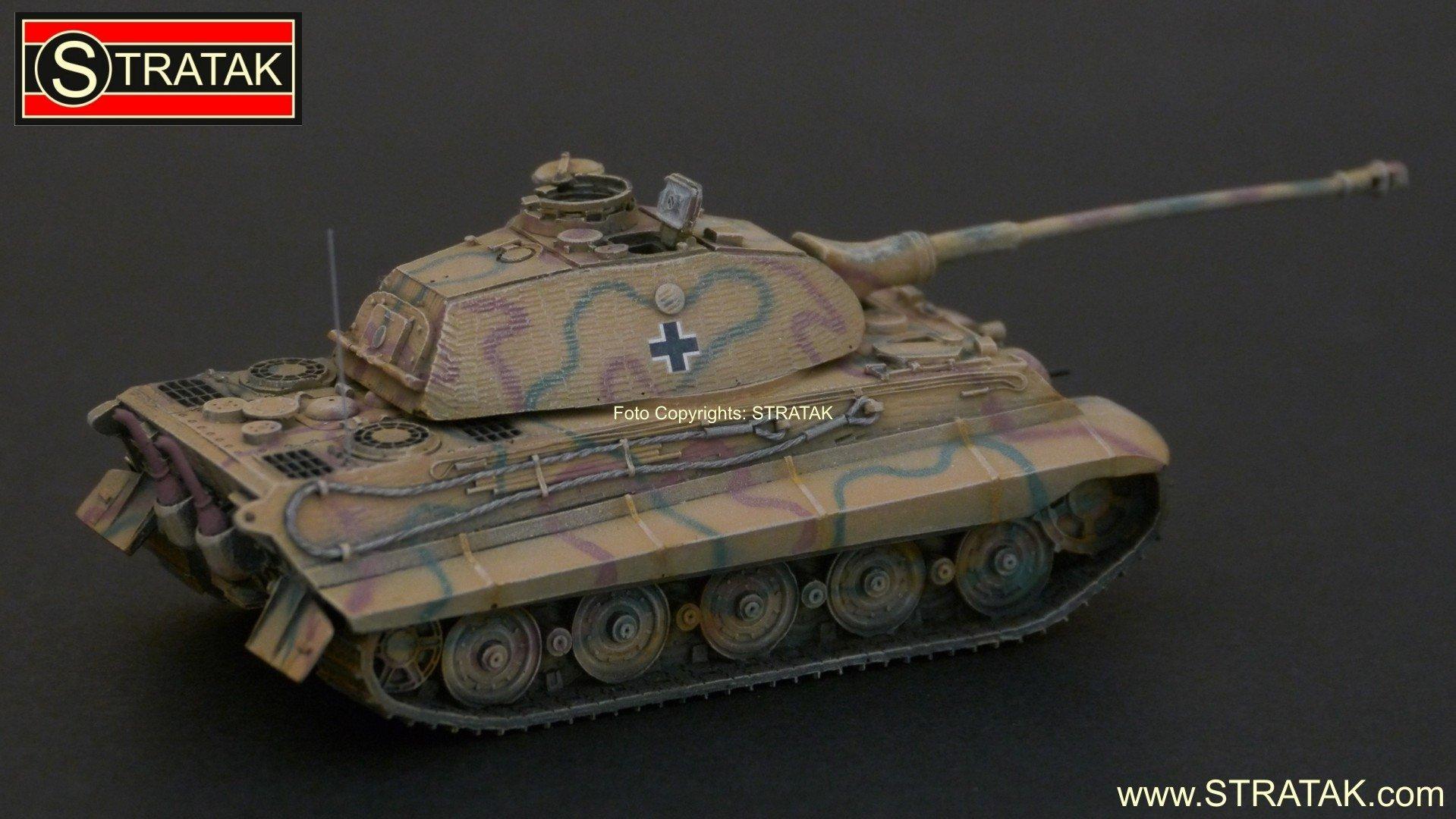 Artitec 387 75 Cm Panzer Vi King Tiger Porsche Zimmerit Camo