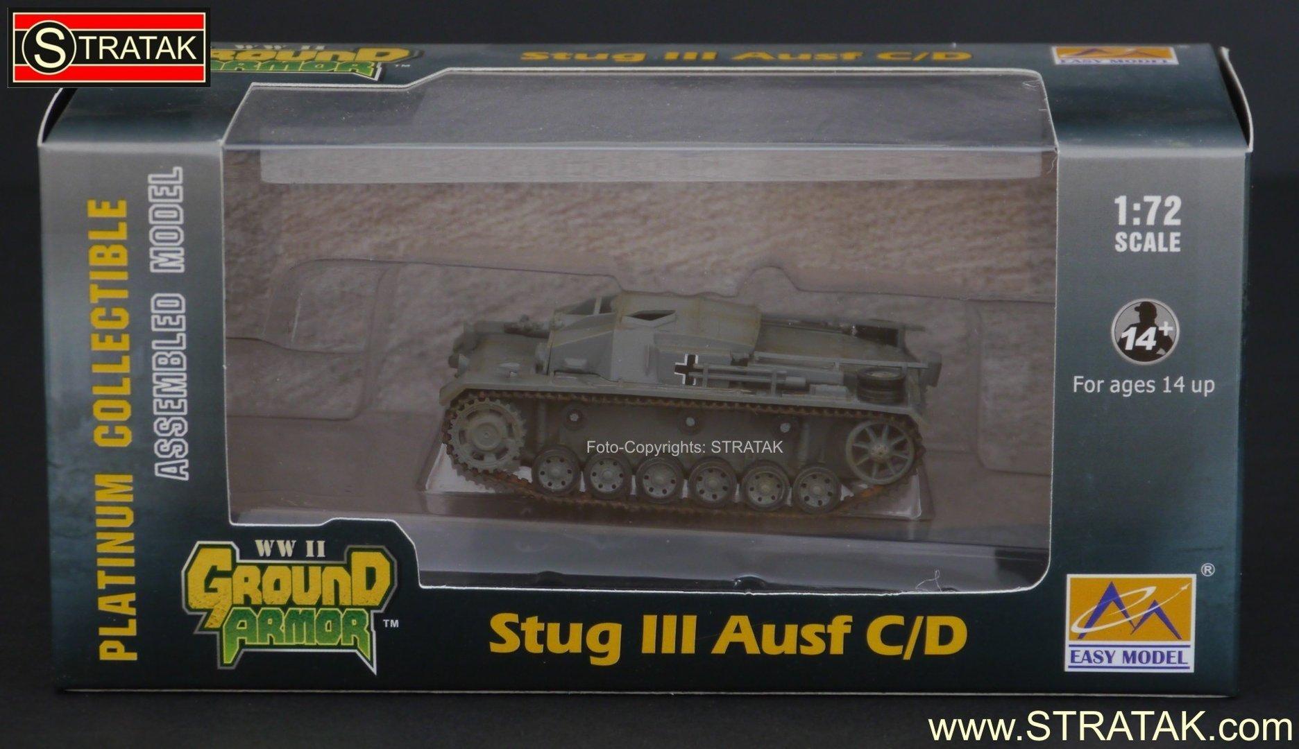 Easy Model 36139 StuG III Ausf. C/D SV 288 Africa 1942