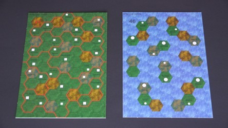 Gameboards for STRATAK WARS