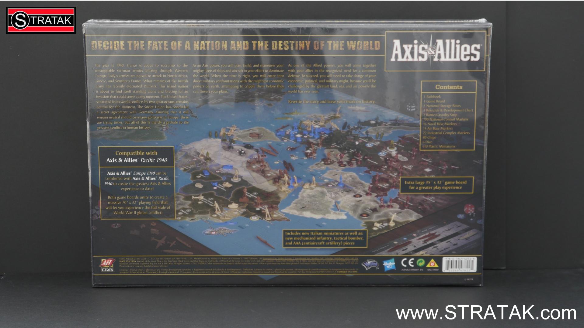 Axis & Allies Europe 1940 second edition - STRATAK