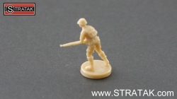 Axis & Allies Infantry Great Britain tan