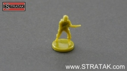 Axis & Allies Infantry USA green