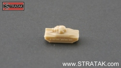 Axis & Allies tank Matilda Great Britain tan