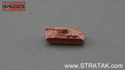 Axis & Allies Tank T-34/76 Russia in dark brown