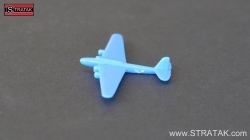 Axis & Allies Bomber Pe-8 France blue