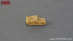 Axis & Allies Tank M15/42 Italy brown