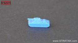 Axis & Allies tank T34/76 France blue