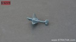 Axis & Allies tactical Bomber Ju-87 Stuka Germany black