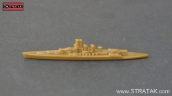 Axis & Allies Schlachtschiff Littorio Italien in braun