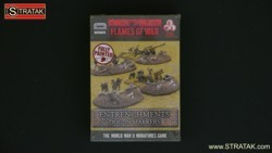 FLAMES OF WAR BB106 Entrenchments Dug-In Markers