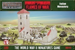 FLAMES OF WAR BB115 Italian Monastery Kloster