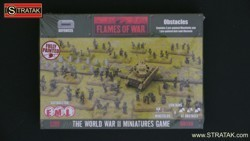 FLAMES OF WAR BB130 Mindfields and Anti-tank Obstacle