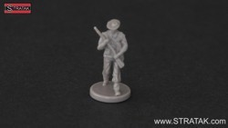 Axis & Allies Infantry ANZAC grey