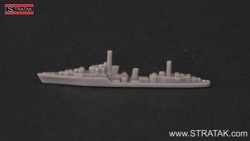 Axis & Allies destroyer Tribal ANZAC grey
