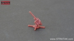 Axis & Allies Flak M1939 85 mm Russland dunkelbraun
