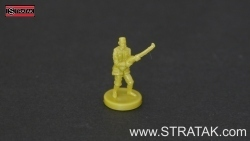Axis & Allies Infantry China light green
