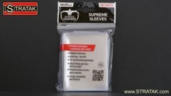 Ultimate Guard 50 Supreme Sleeves 66 x 91 mm clear