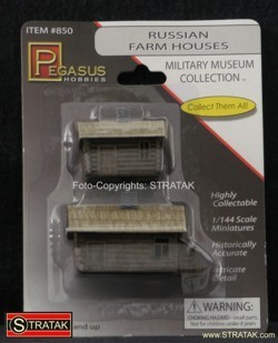 Pegasus Hobbies 850 2 russian farm houses
