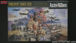 Axis & Allies Pacific 1940 second edition Schachtel