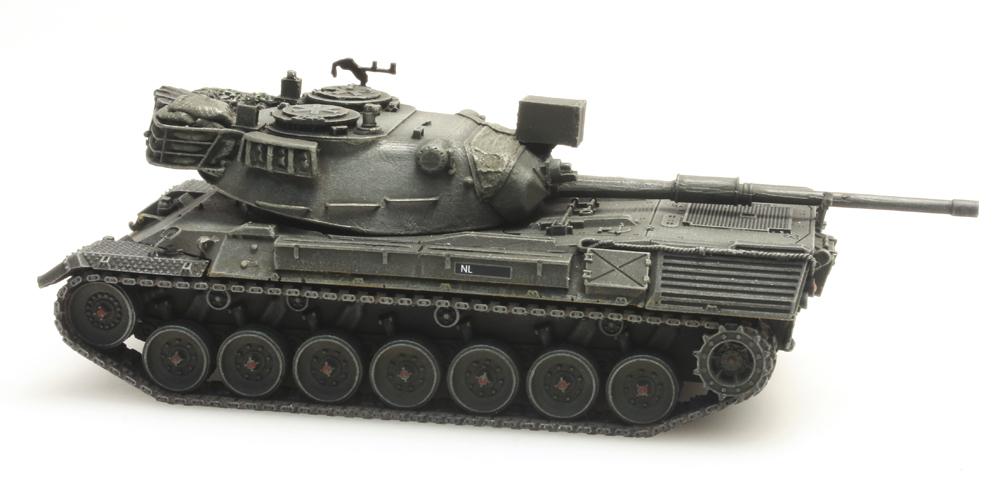 artitec 6870053 panzer leopard 1 zugtransport niederlande. Black Bedroom Furniture Sets. Home Design Ideas