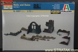 Italeri 6087 Walls and Ruins World War II