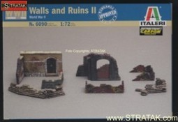 Italeri 6090 Walls and Ruins II World War II