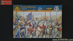 Italeri 6026 French Warriors 100 years war