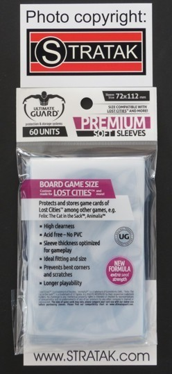 Ultimate Guard 60 Premium Soft Sleeves 72x112 mm clear