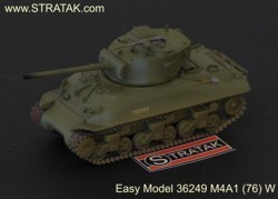 Easy Model 36249 M4A1 (76) W middle tank Sherman US Army