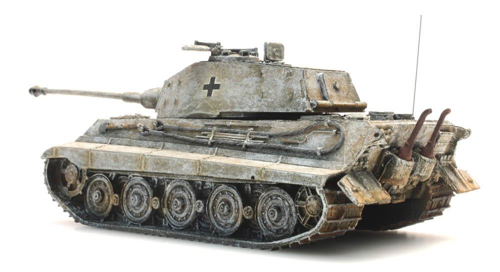 Artitec 387.17-wy Wehrmacht Tiger II Henschel torre amarillo-camuflaje WWII 1:87