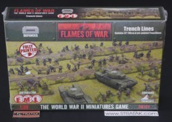 FLAMES OF WAR BB131 Trench Lines