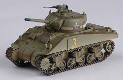 Easy Model 36252 M4 Sherman tank mid 1st Armored