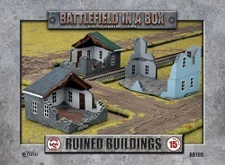 FLAMES OF WAR BB199 Ruined Building