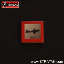 STRATAK WARS Bombermarker Japan in rot