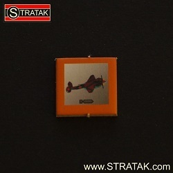 STRATAK WARS Bombermarker Russland in orange