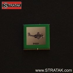 STRATAK WARS Bombermarker USA in grün